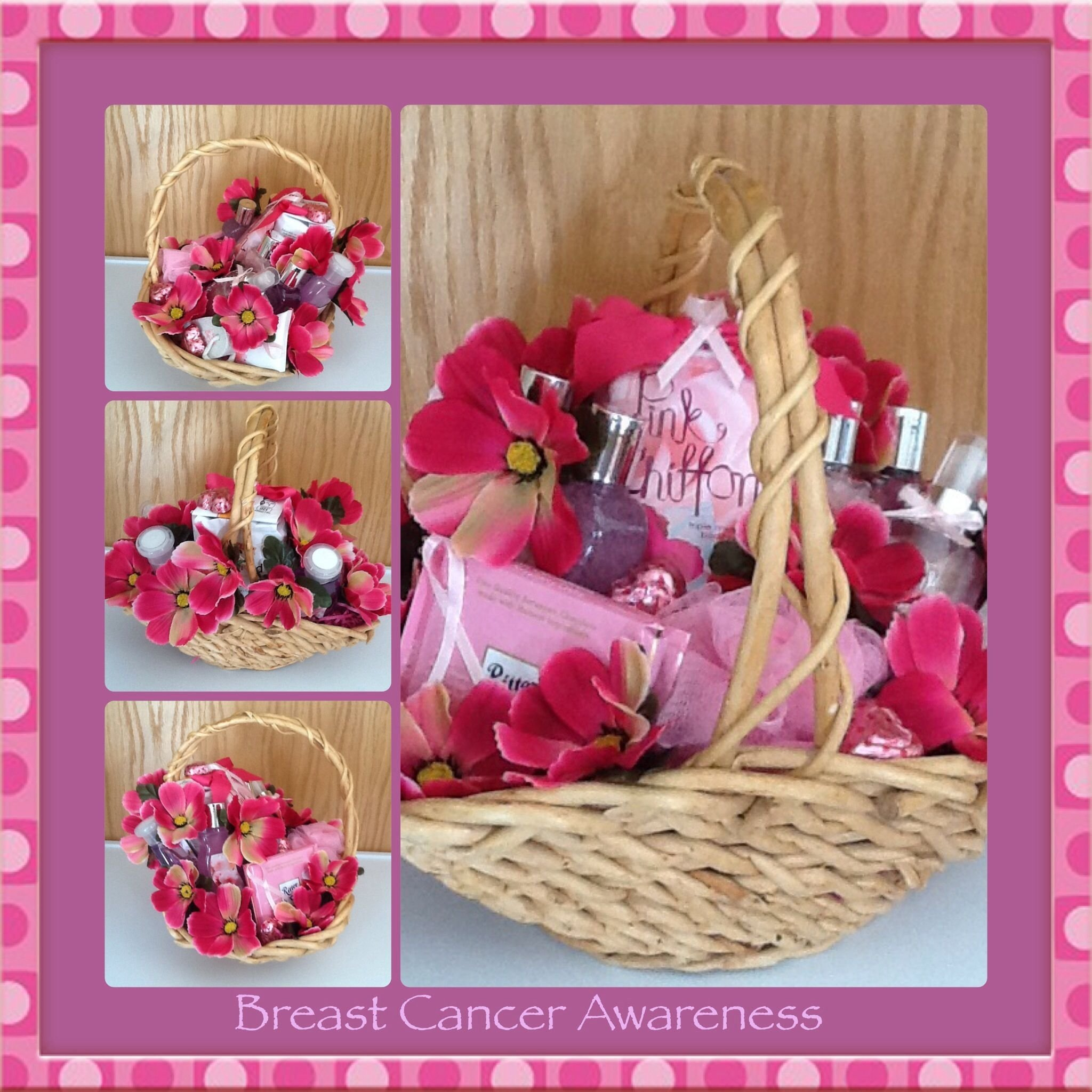 10 Famous Gift Ideas For Breast Cancer Patients breast cancer awareness gift basketgifted occakesions n baskets 2020