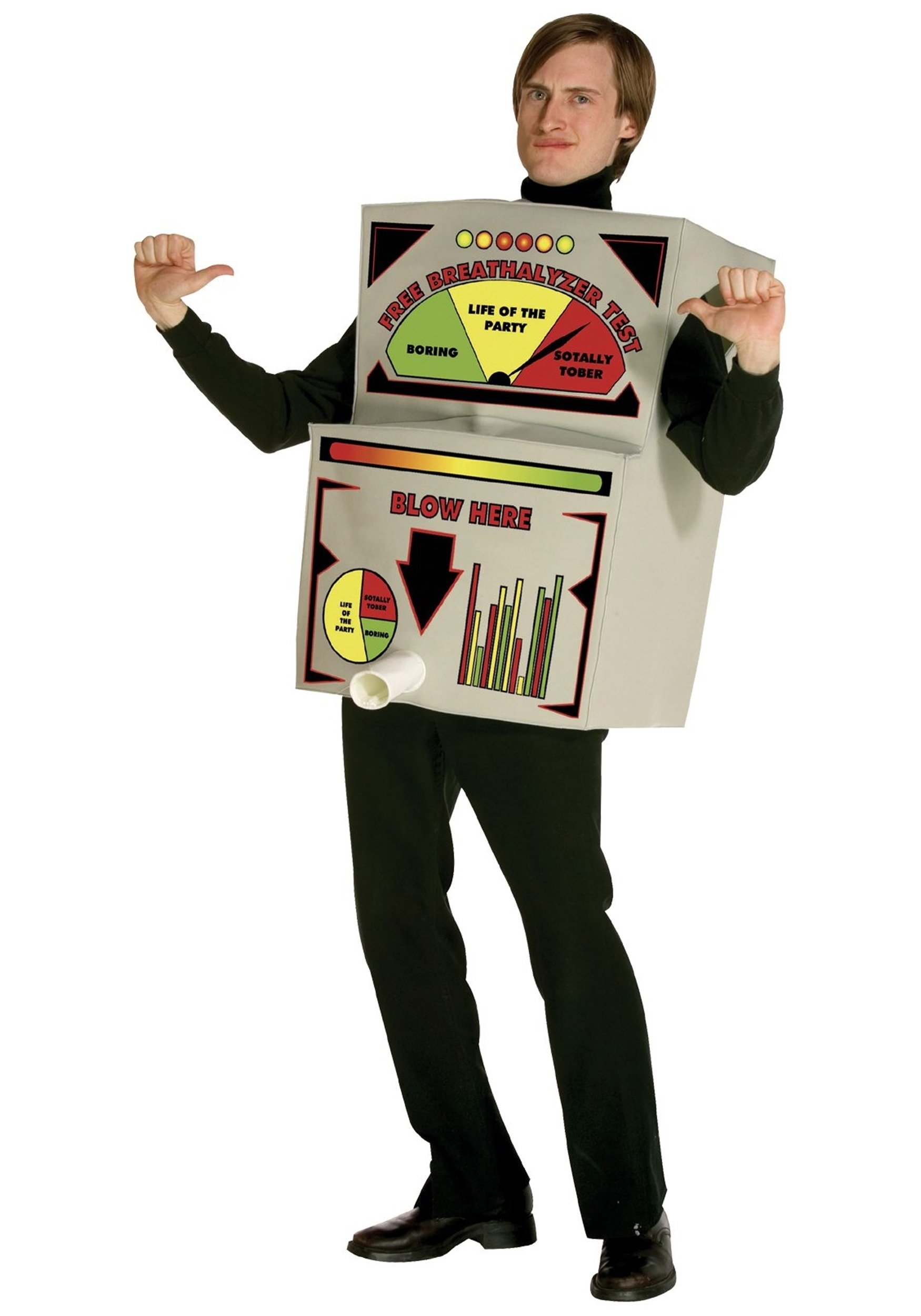 breathalyzer adult costume - beer costumes