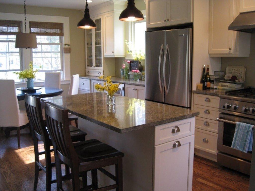 10 Wonderful Small Kitchen Island Ideas With Seating breathtaking small kitchen island with seating photo inspiration 2020
