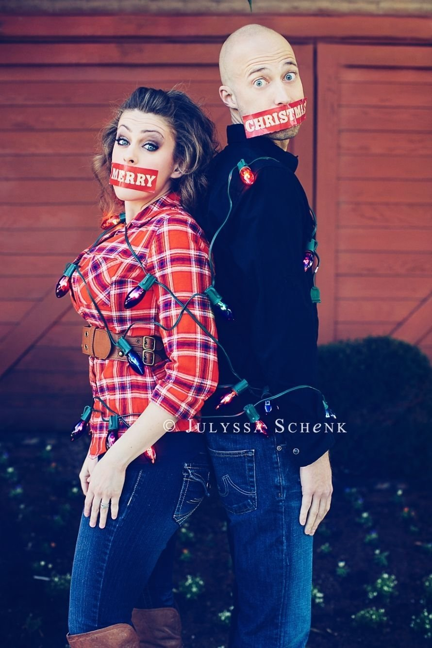 10 Lovable Funny Christmas Card Photo Ideas For Couples briannemitchell christmas portraits julyssa schenk photography 6 2020