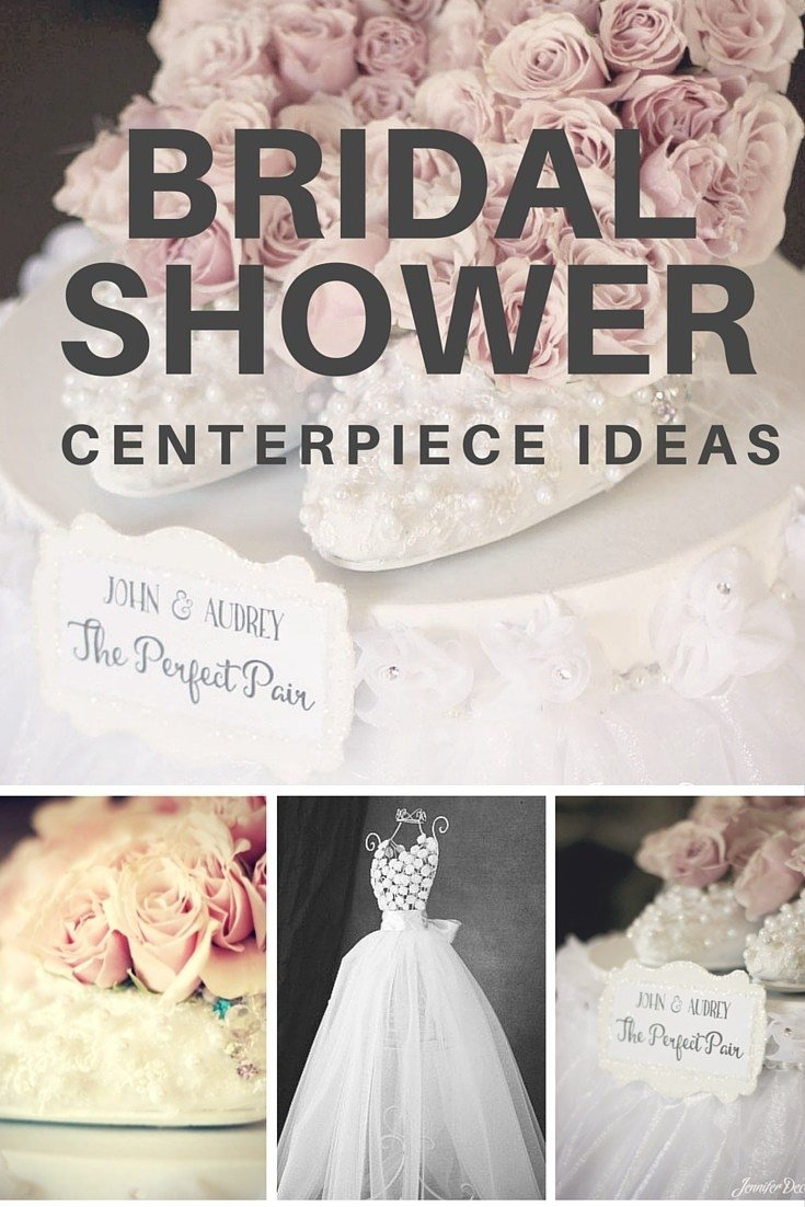 10 Most Popular Bridal Shower Decoration Ideas Homemade bridal shower centerpiece ideas affordable and adorable 2020