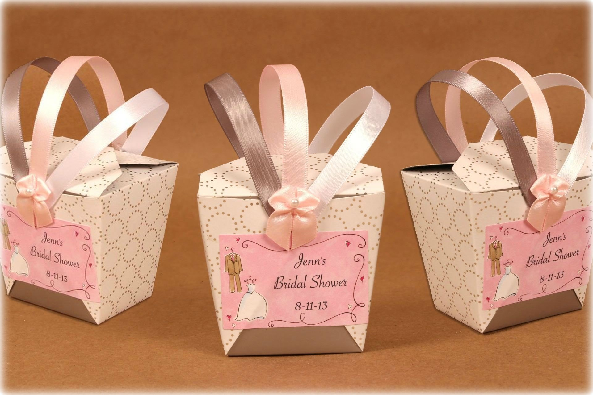 10 Most Popular Ideas For Bridal Shower Favors bridal shower favor chinese takeout style boxes 2020