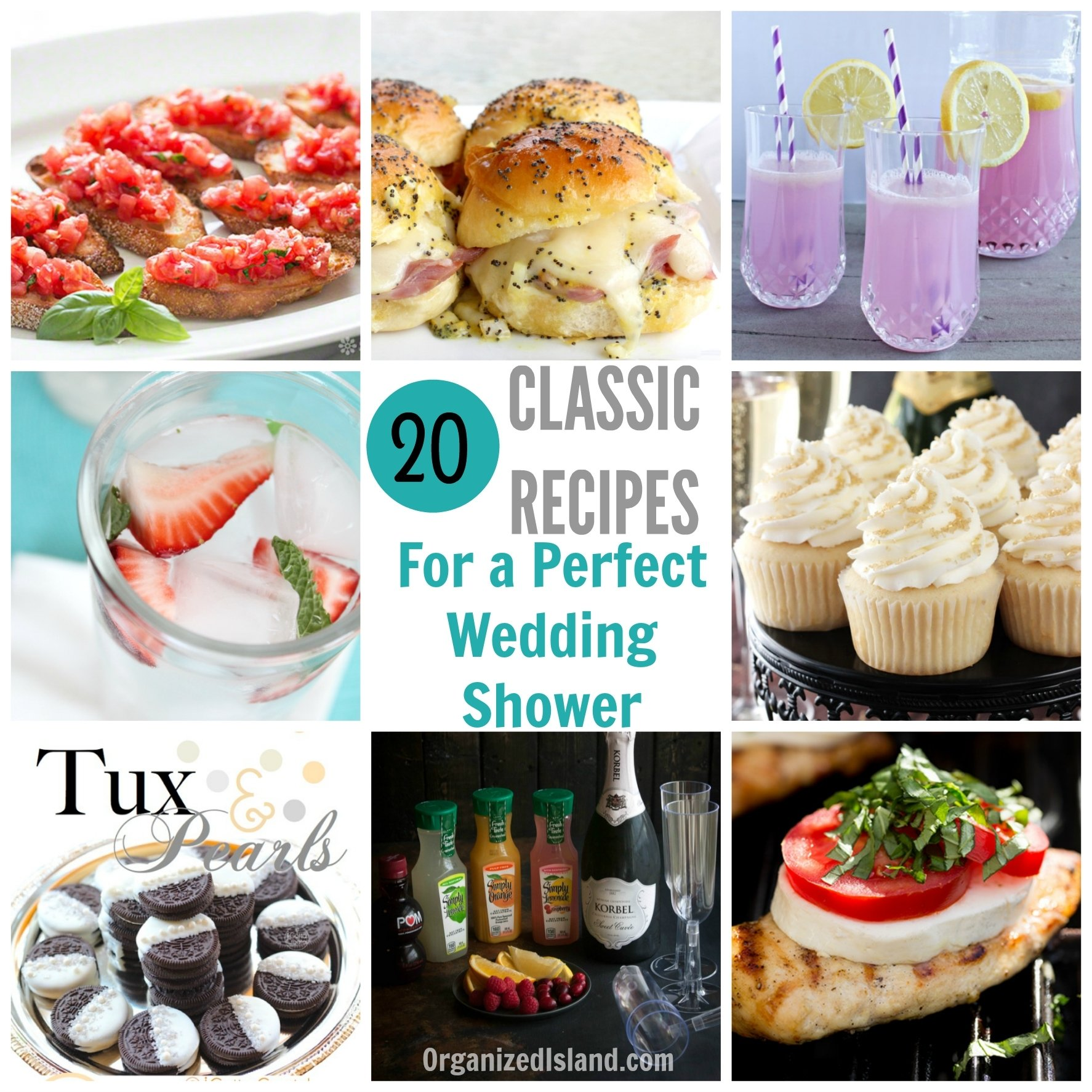 10 Beautiful Food Ideas For Bridal Shower bridal shower food ideas 2020