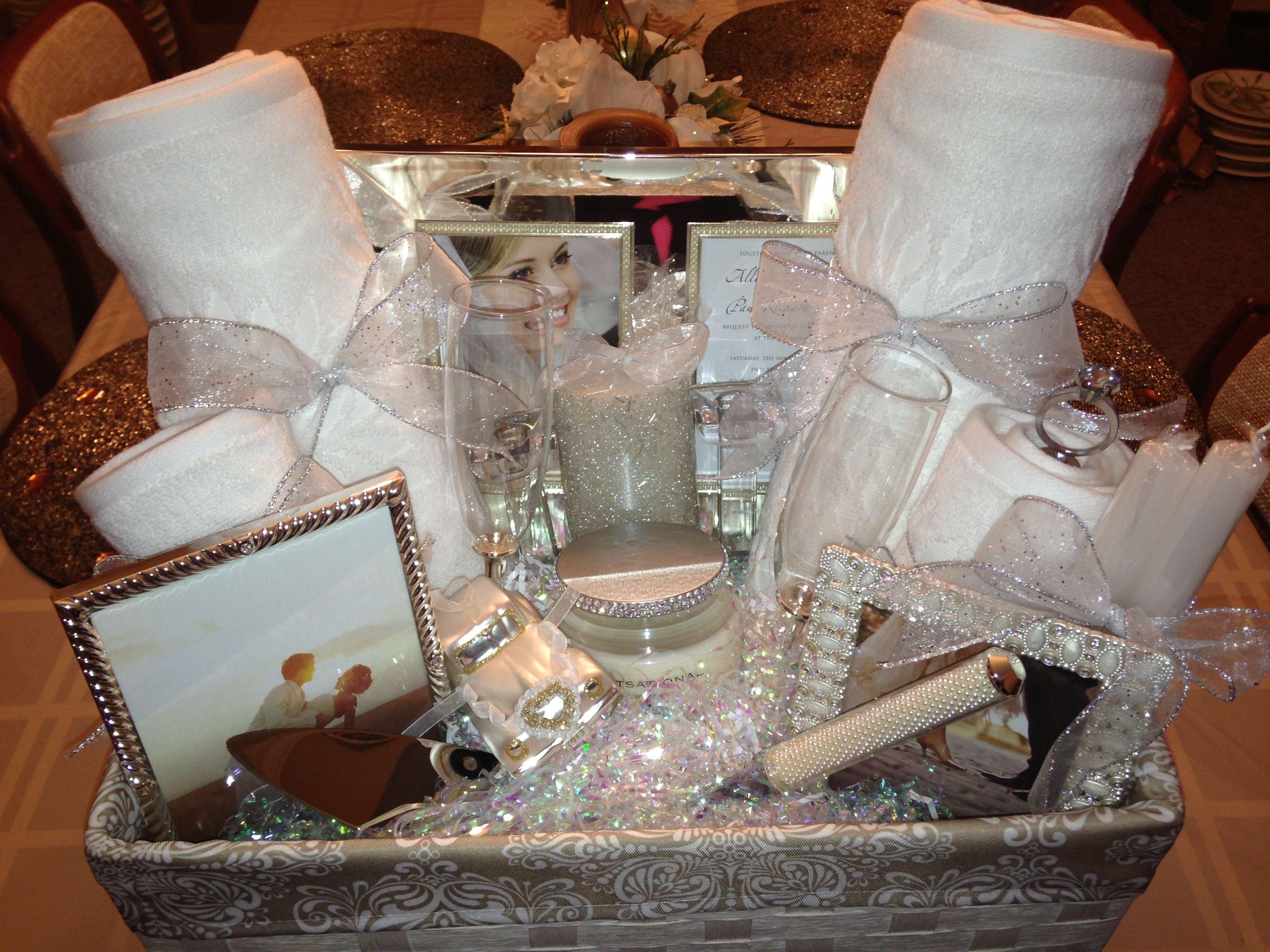 10 ideal bridal shower gift basket ideas bridal shower gift basket ideas ideasthatsparkle on how to