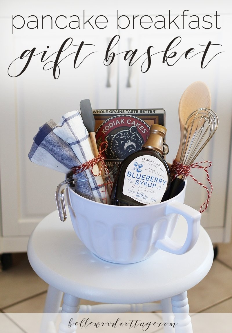 10 Most Recommended Ideas For A Bridal Shower Gift bridal shower gift idea pancake breakfast gift basket bellewood