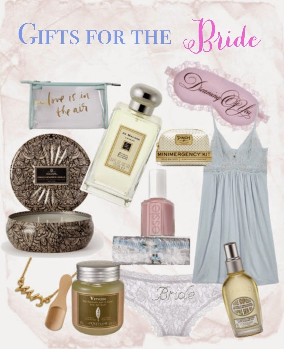 10 Most Recommended Gift Ideas For Bride To Be bridal shower gifts for bride private webcam 2021