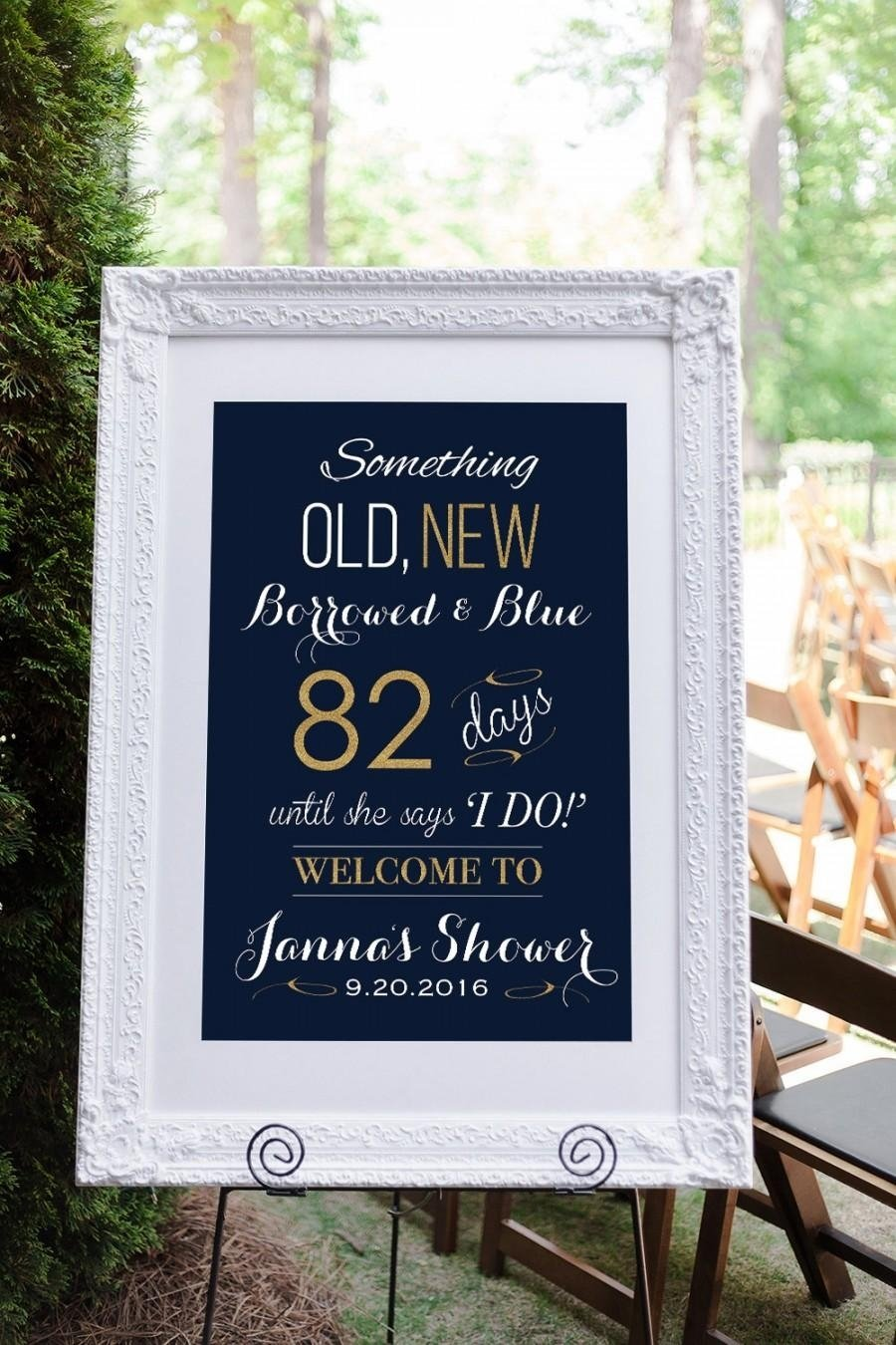10 Perfect Gift Ideas For An Engagement Party bridal shower sign engagement party decorations wedding shower 1 2021