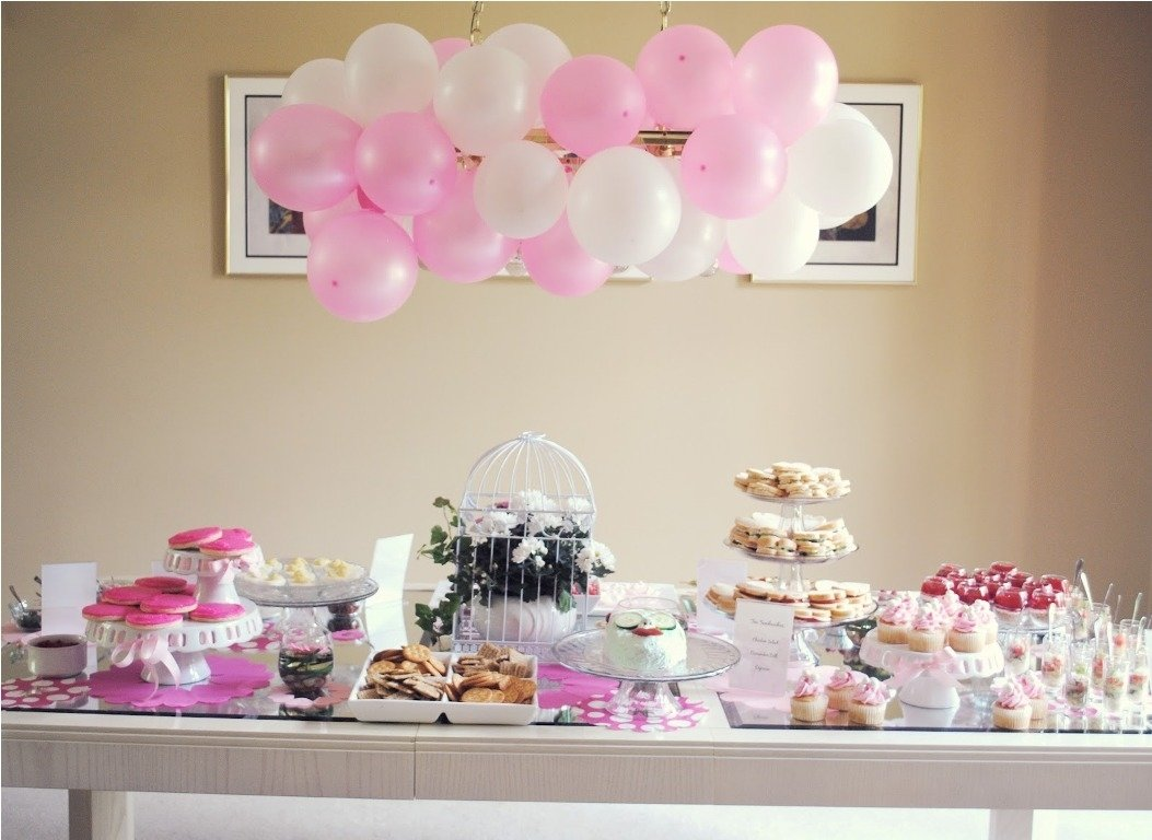 10 Stylish Ideas For Bridal Shower Themes bridal shower table decorations bridal shower invitations 2020