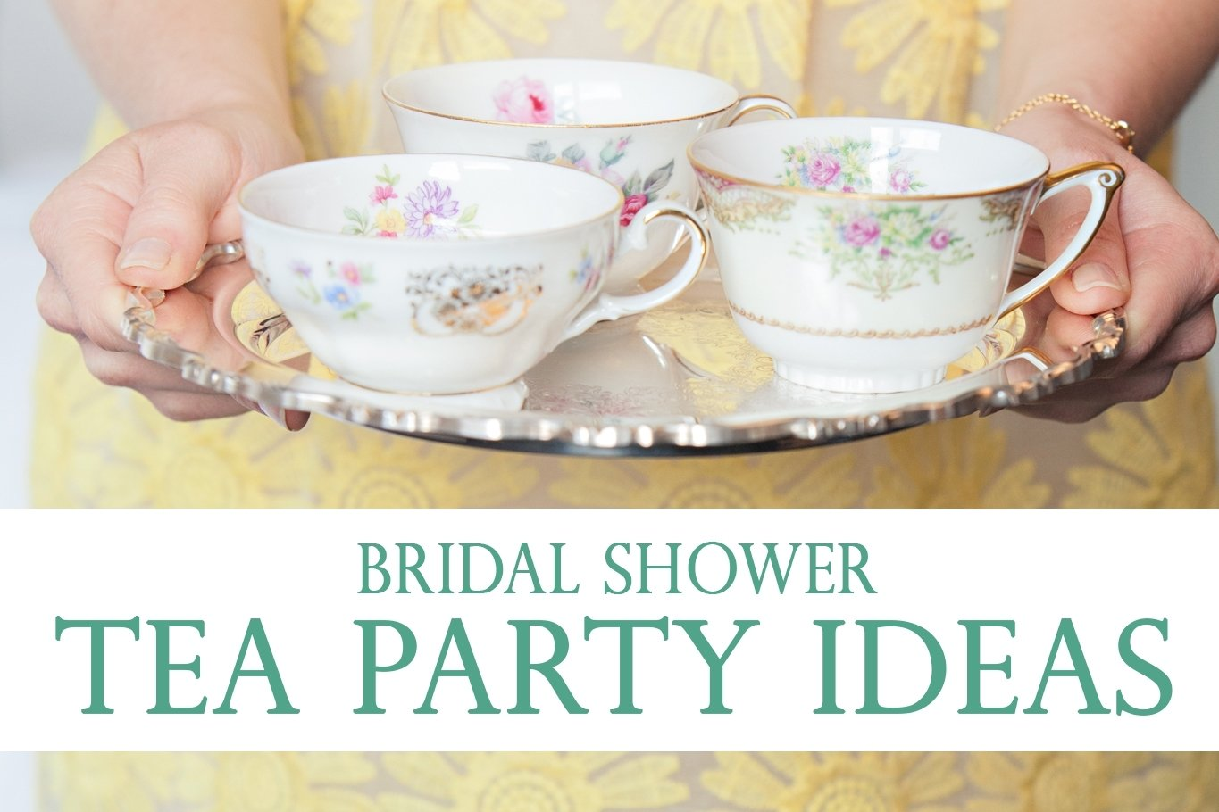 10 Beautiful Tea Party Bridal Shower Ideas bridal shower tea party ideas pretty little inspiration from mandy 2020