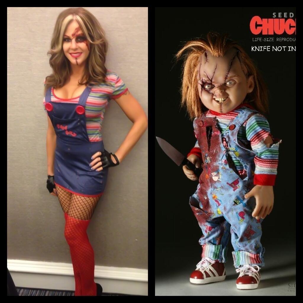 10 Unique Bride Of Chucky Costume Ideas