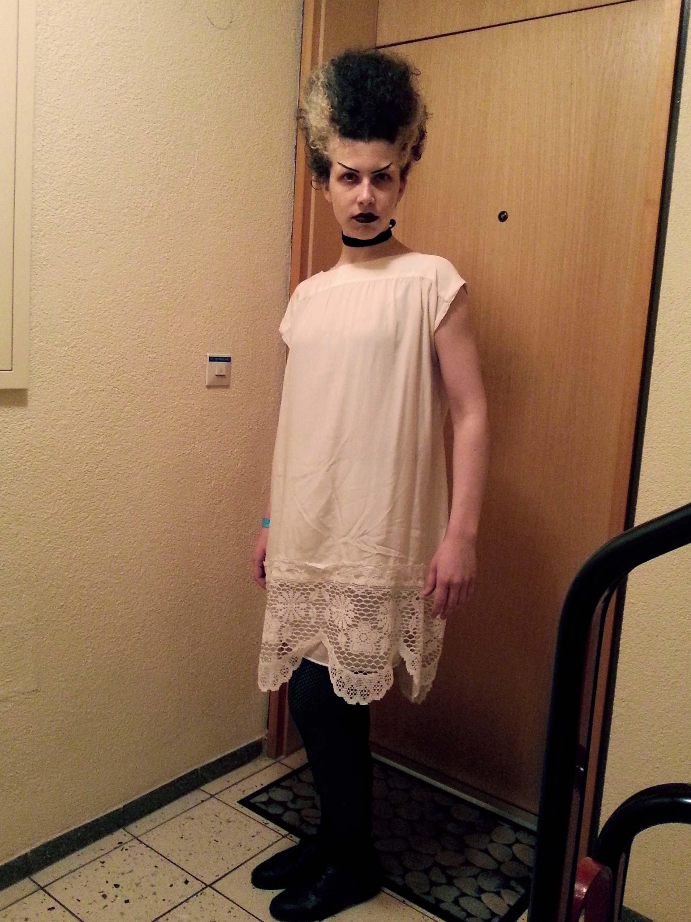 10 Perfect Bride Of Frankenstein Costume Ideas bride of frankenstein costume button snap 2021