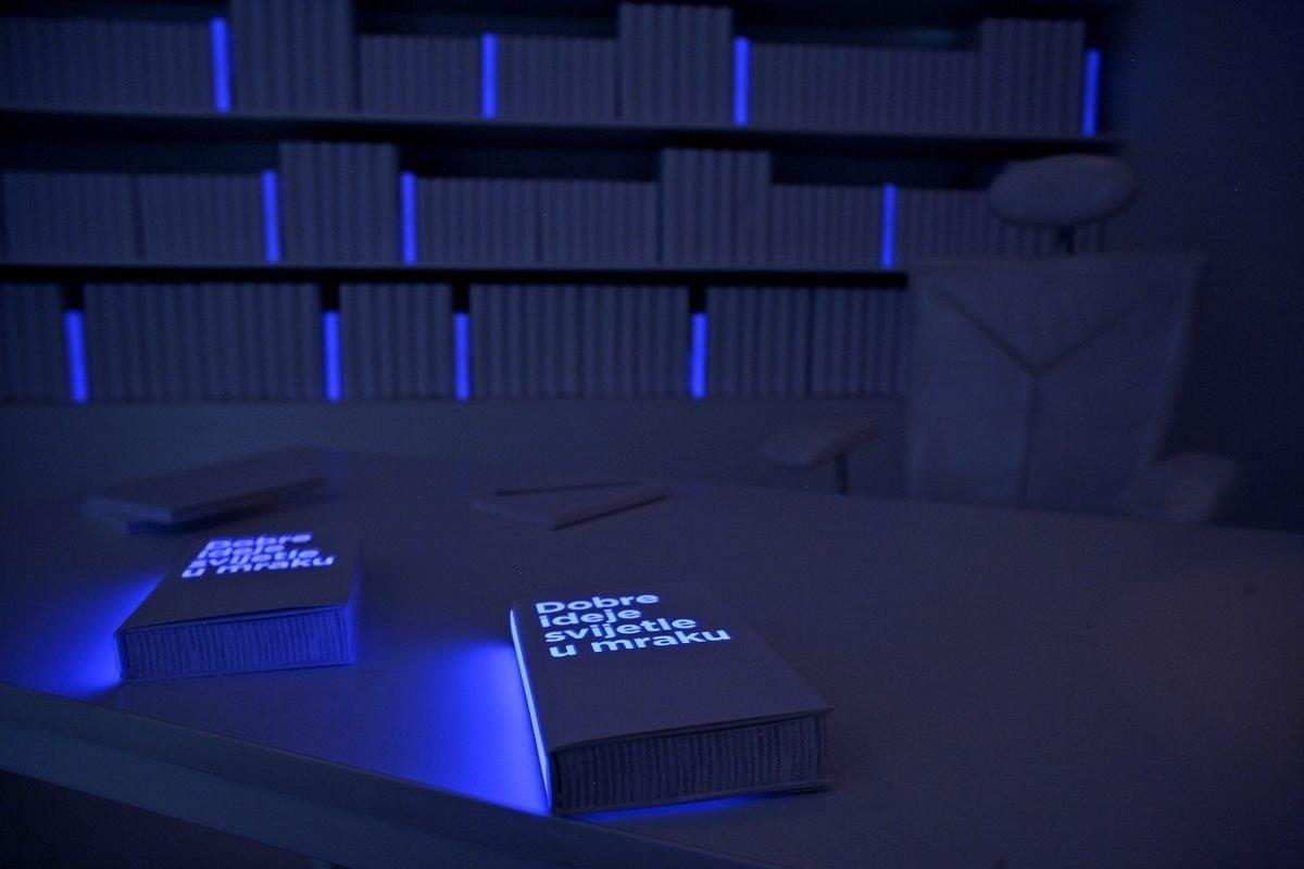 10 Fashionable Good Ideas Glow In The Dark brigada a room that glows in the dark art installations 2020
