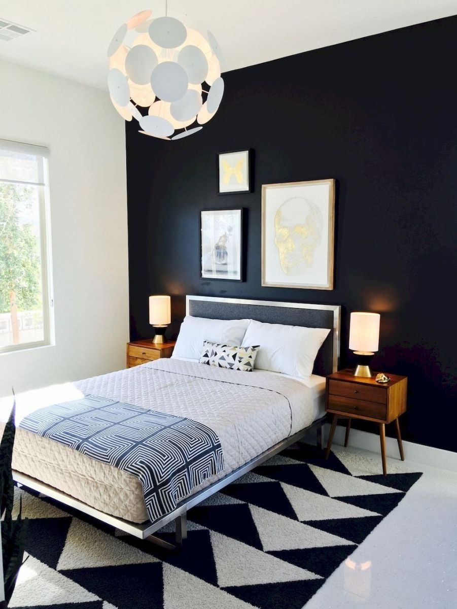 bright and trendy mid century modern bedroom decor ideas (7 | mid