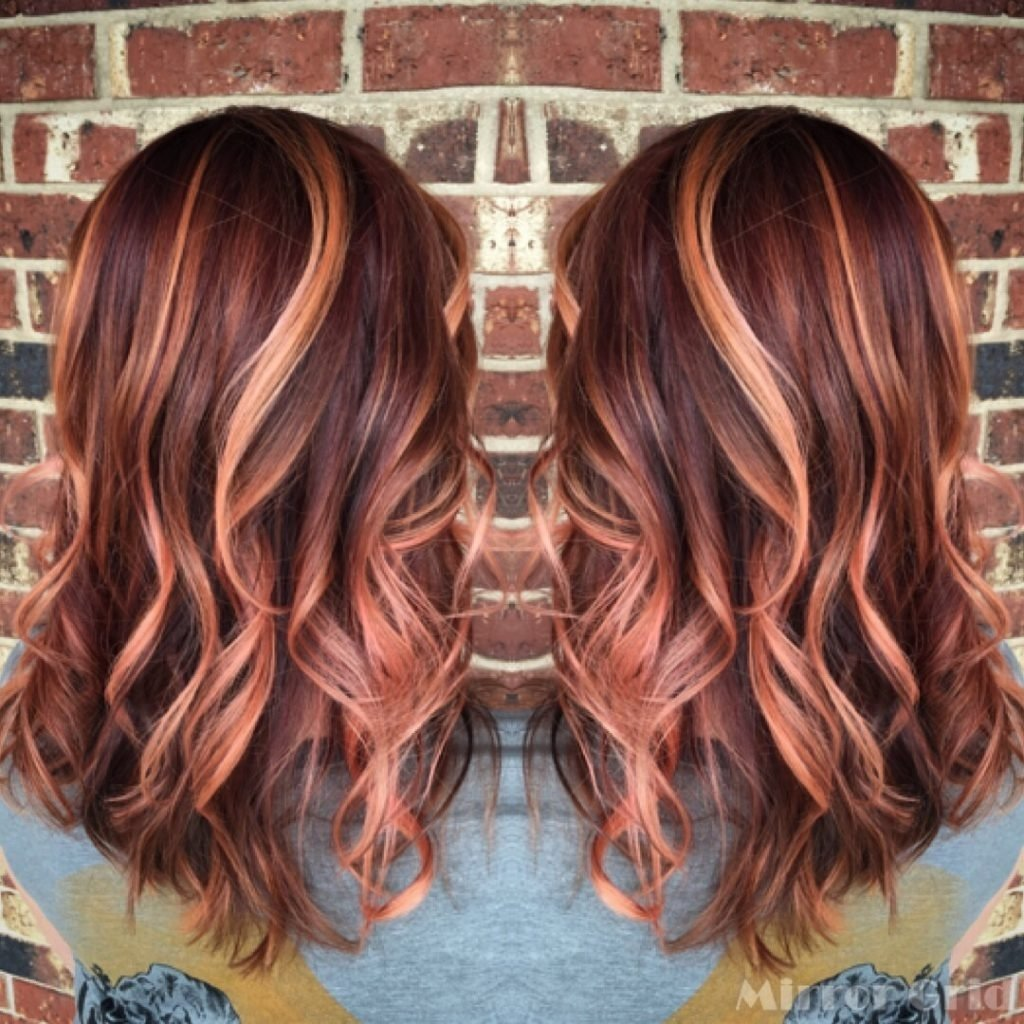 10 Stunning Hair Color Ideas For Brunettes bright hair color ideas for brunettes 53 with bright hair color