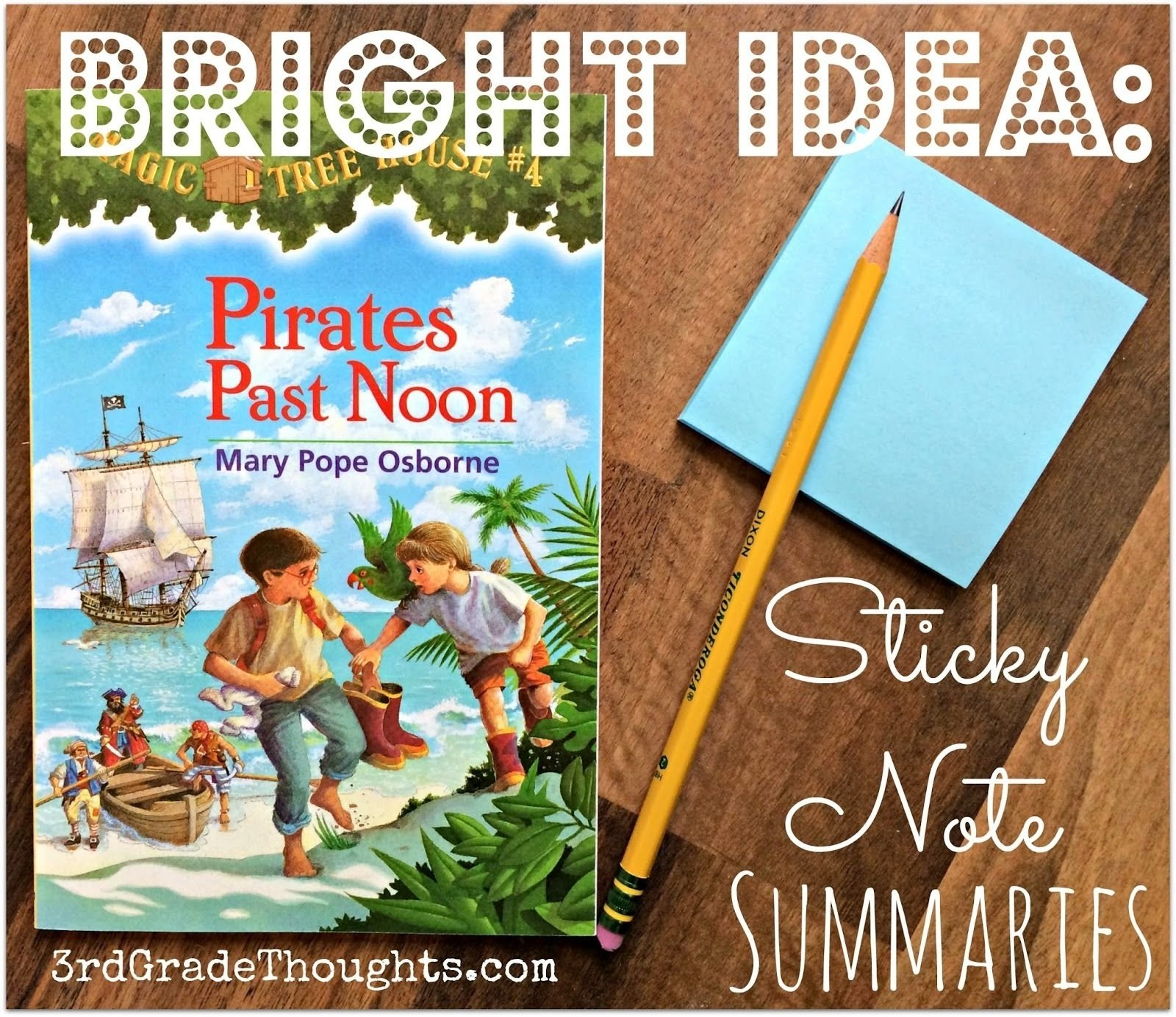 10 Fabulous The Book Of Bright Ideas bright ideas sticky note summaries bright note and students 2021