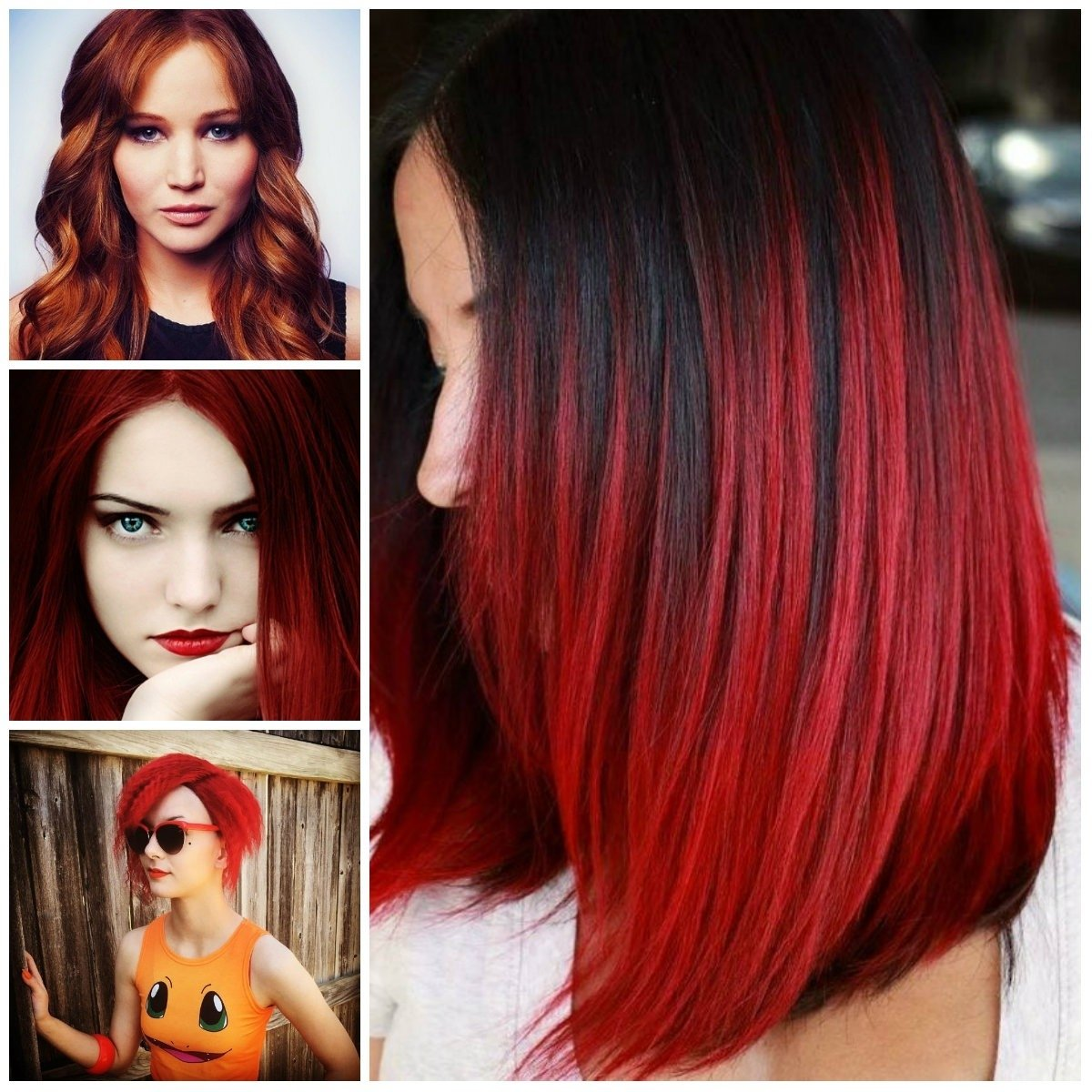 10 Gorgeous Different Shades Of Red Hair Color Ideas bright red hair ideas for 2017 new hair color ideas trends for 2020