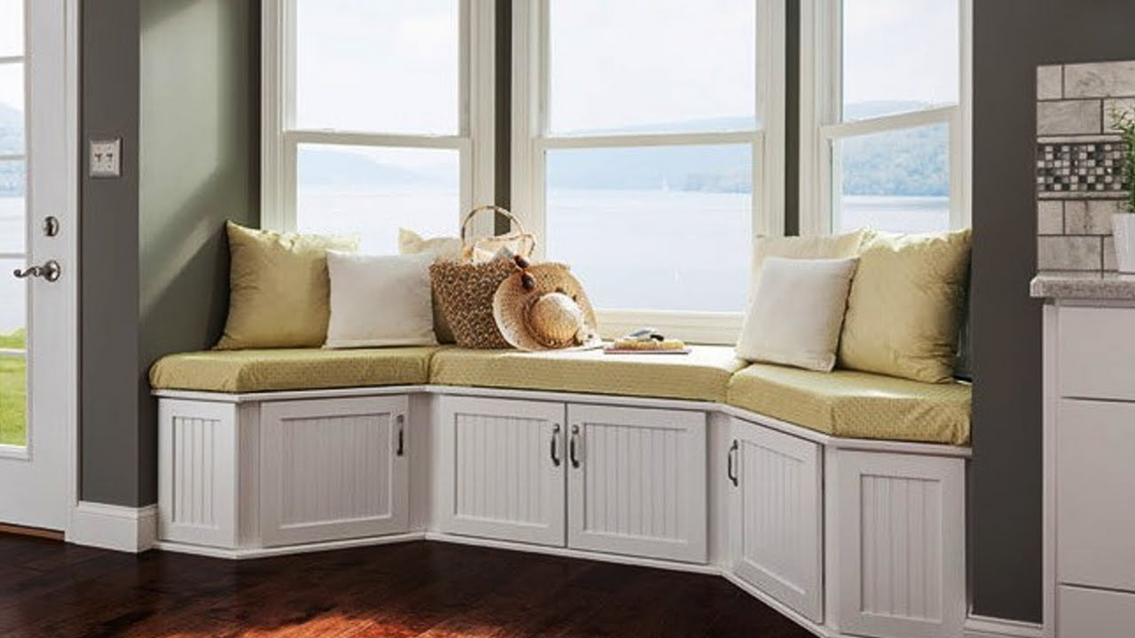 brilliant design ideas for window seat | storage design ideas - youtube