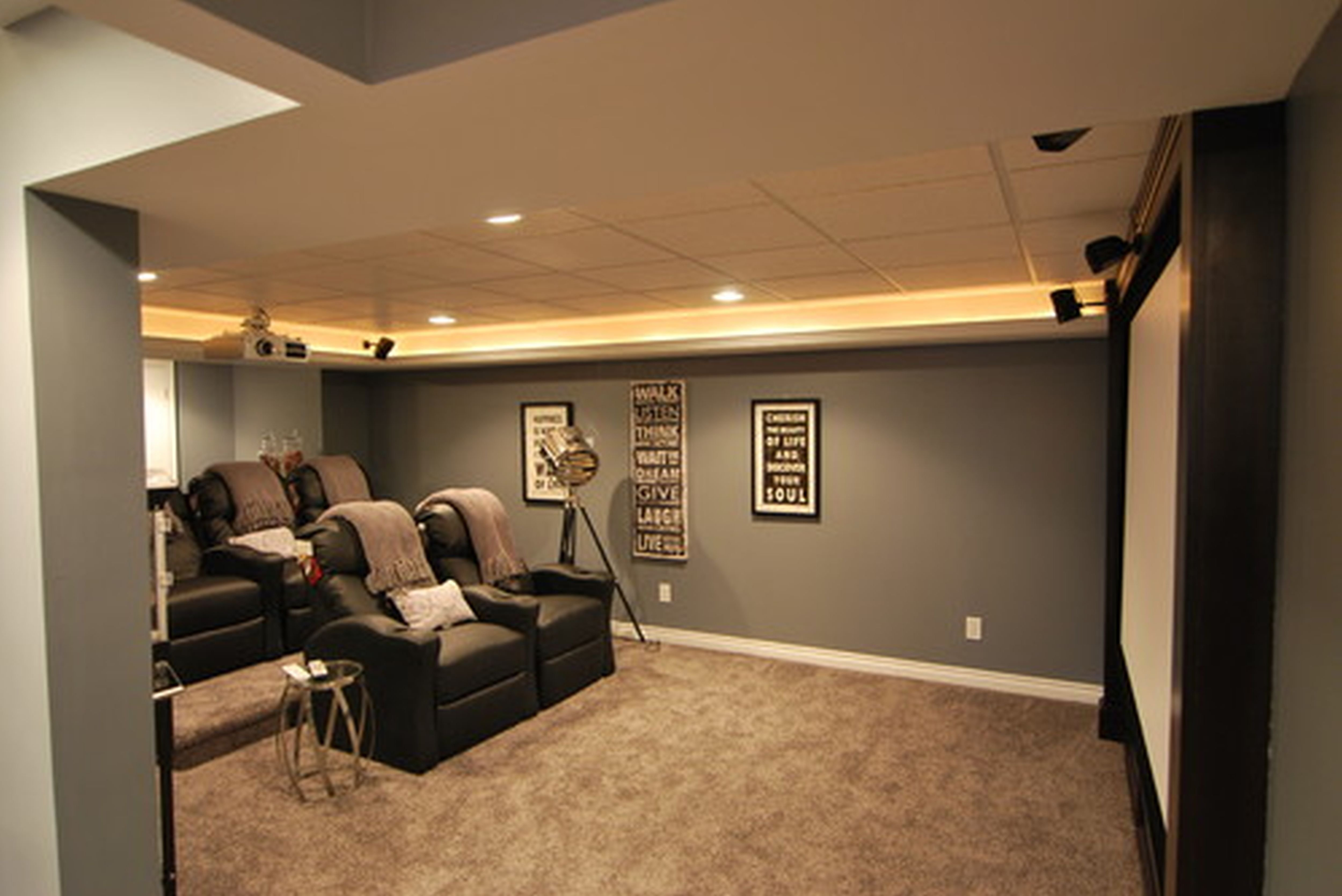 10 Stunning Finished Basement Ideas On A Budget brilliant finished basement ideas design finishing cheap and ideas 2020