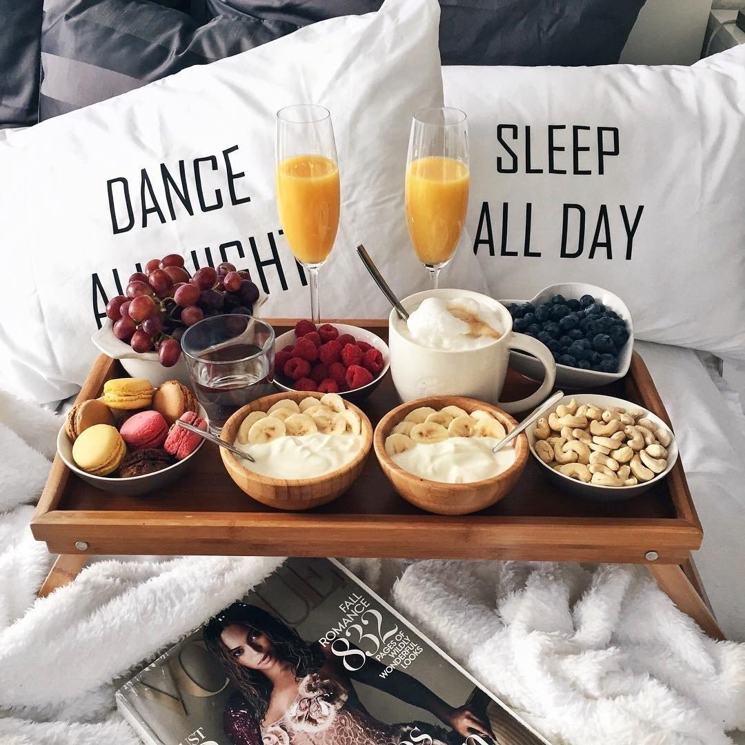 10 Gorgeous Romantic Breakfast In Bed Ideas brittanickel photo lifes simple pleasures pinterest food