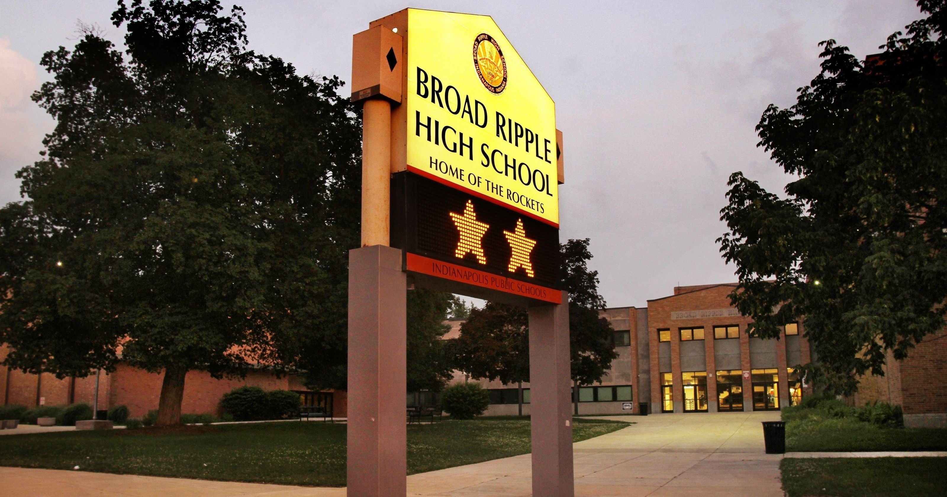 broad ripple high school closing would change neighborhood