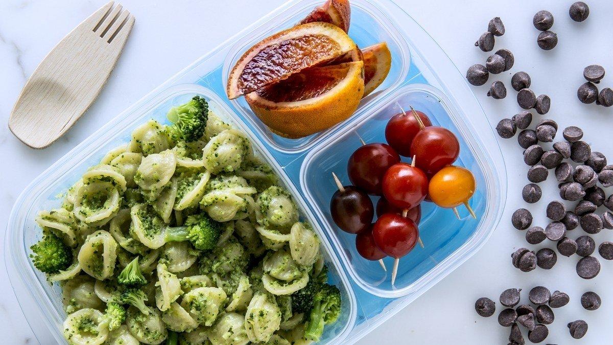 10 Most Popular Healthy Kid Lunch Ideas For School broccoli pesto pasta recipe bon appetit 5 2020