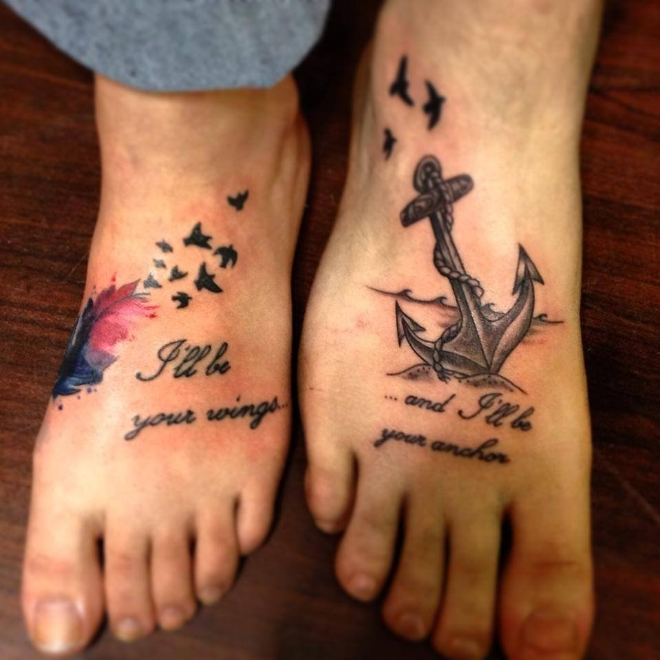 10 Trendy Brother And Sister Matching Tattoo Ideas brother sister tattoo ideas gemini cartoon characters matching 1 2021