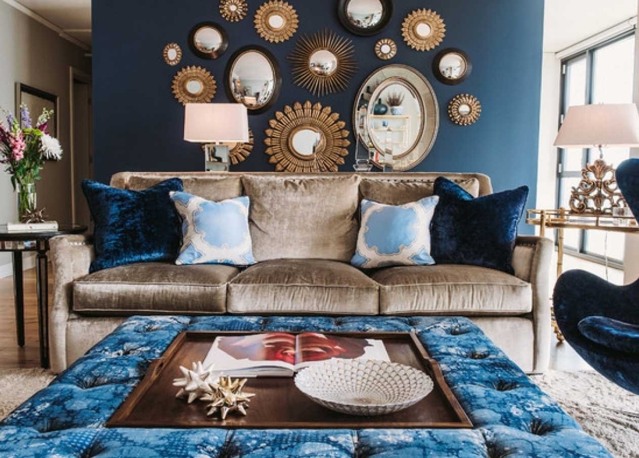 10 Attractive Blue And Brown Living Room Ideas brown and blue living room decorating ideas home interior exterior 3