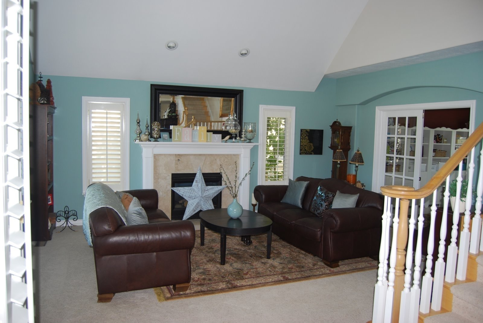 10 Attractive Blue And Brown Living Room Ideas brown and blue living room google search projects to try 1