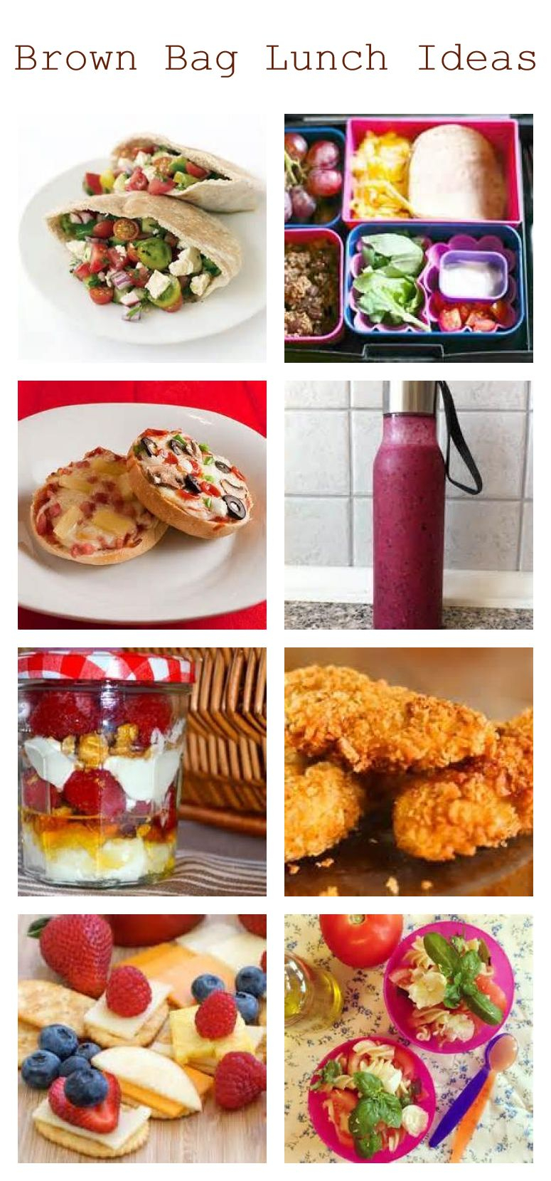brown bag lunch ideas for kids and teens | ♥ money saving ☛ diy