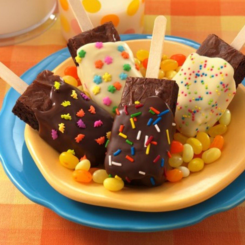 10 Wonderful Bake Sale Ideas For Kids brownies on a stick recipe bake sale ideas bake sale and brownies 2020