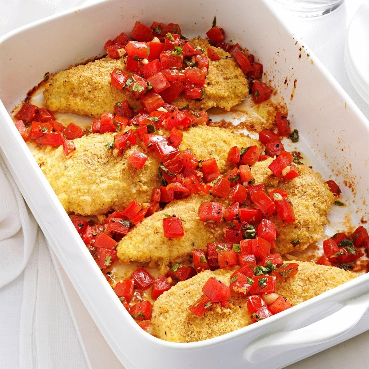 10 Elegant Dinner Ideas For Chicken Breast bruschetta chicken recipe taste of home 2020