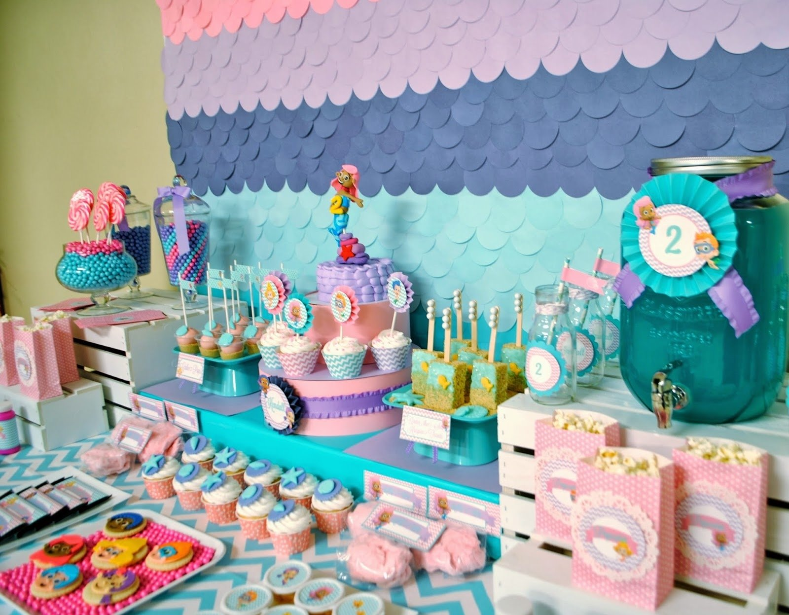 10 Stylish 2Nd Birthday Party Ideas Girl bubble guppies birthday party ideas google search parties 2 2020