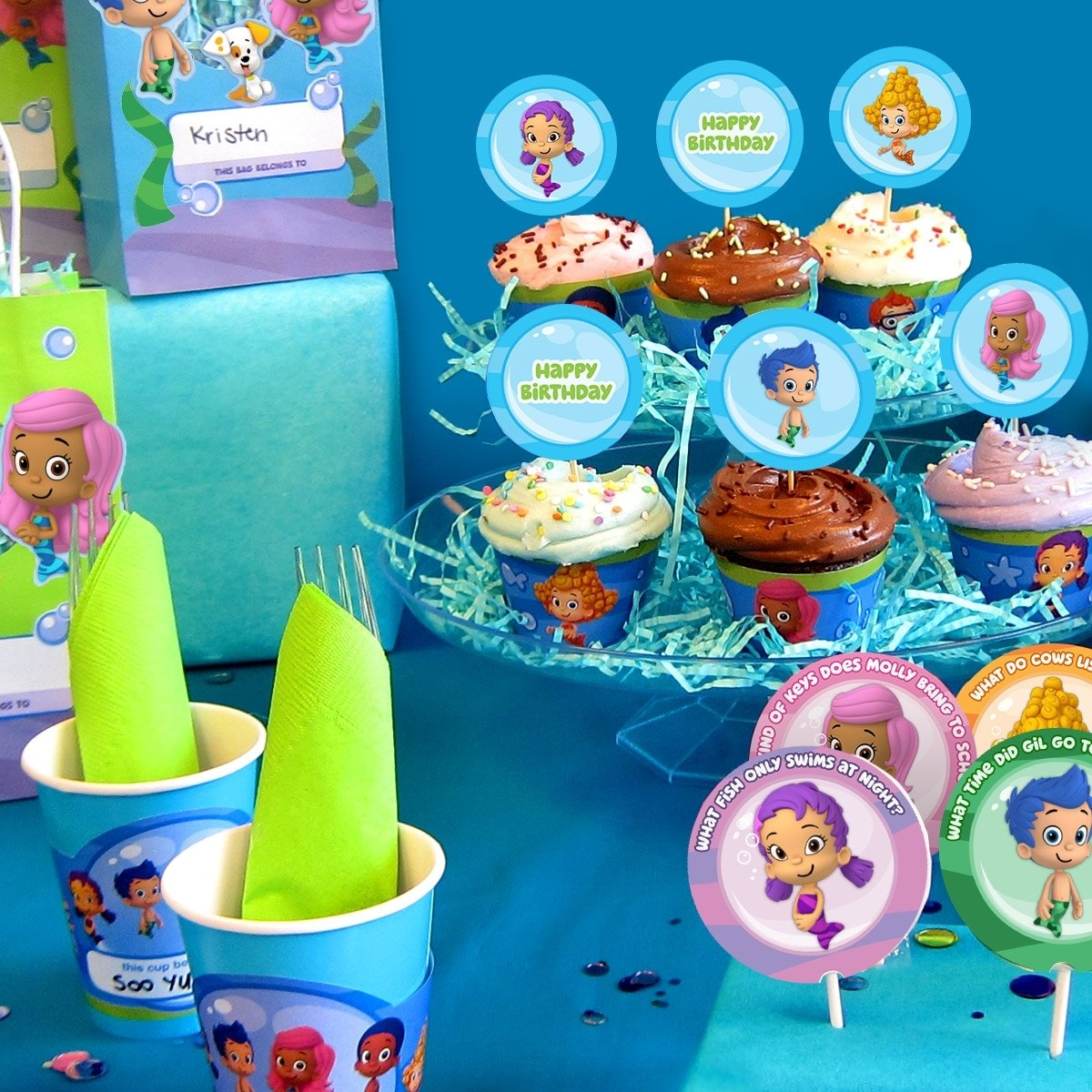 10 Trendy Bubble Guppies Birthday Party Food Ideas bubble guppies party day planner nickelodeon parents 1