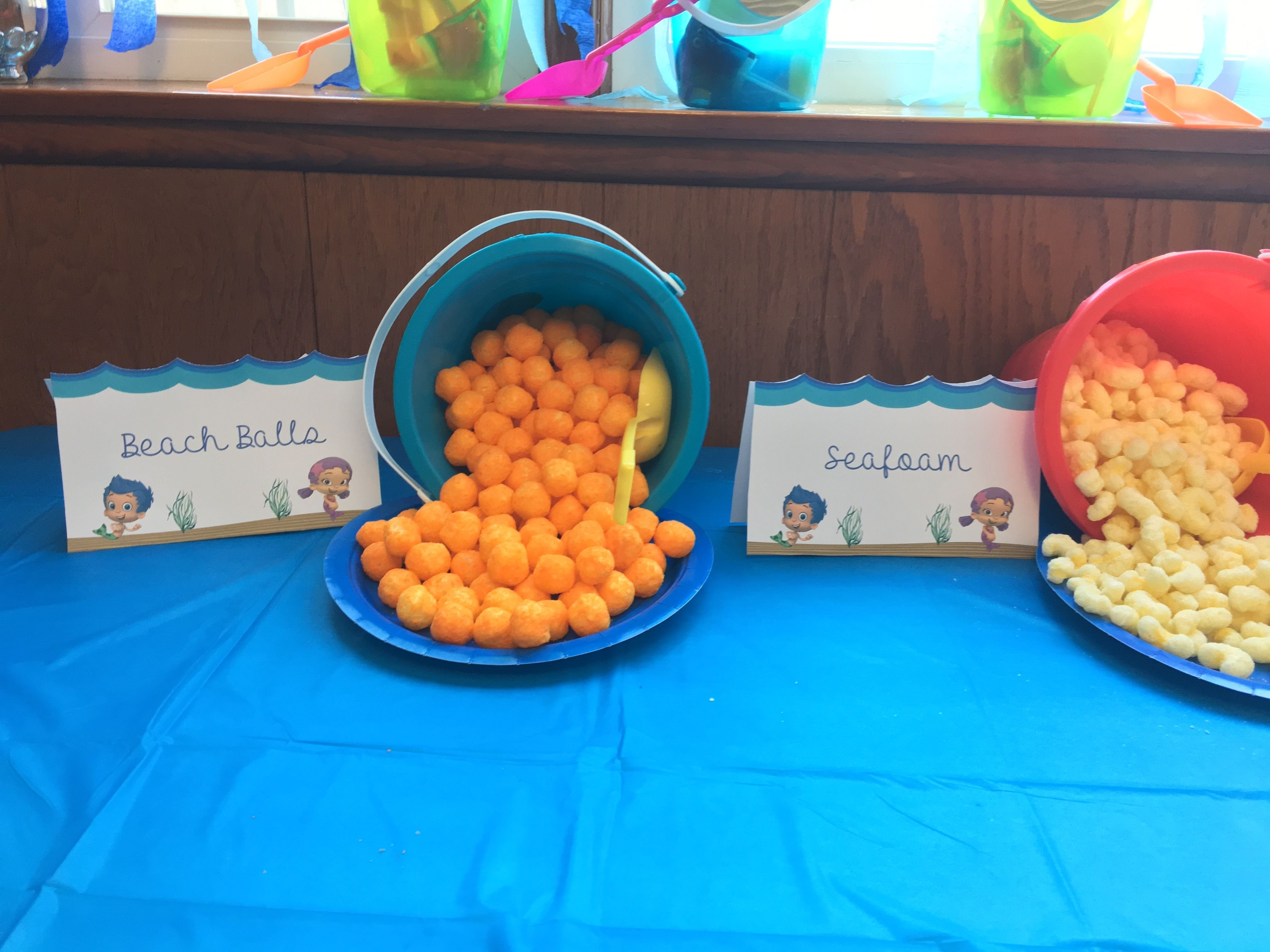 10 Gorgeous Bubble Guppies Party Food Ideas bubble guppies party supplies bubble guppies birthday party 1 2020
