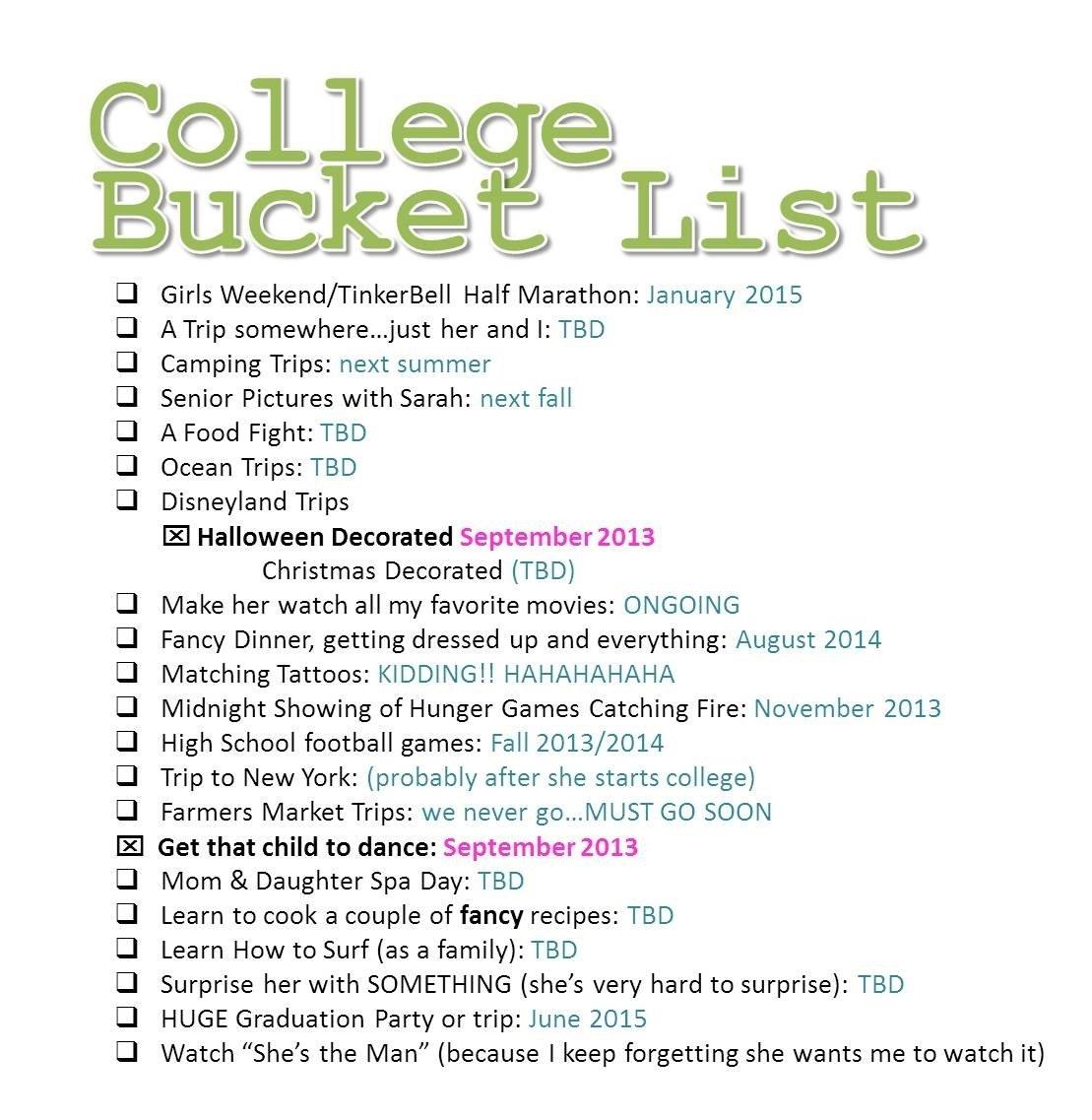 10 Spectacular Bucket List Ideas For Girls bucket list dilemma life of jill 2021