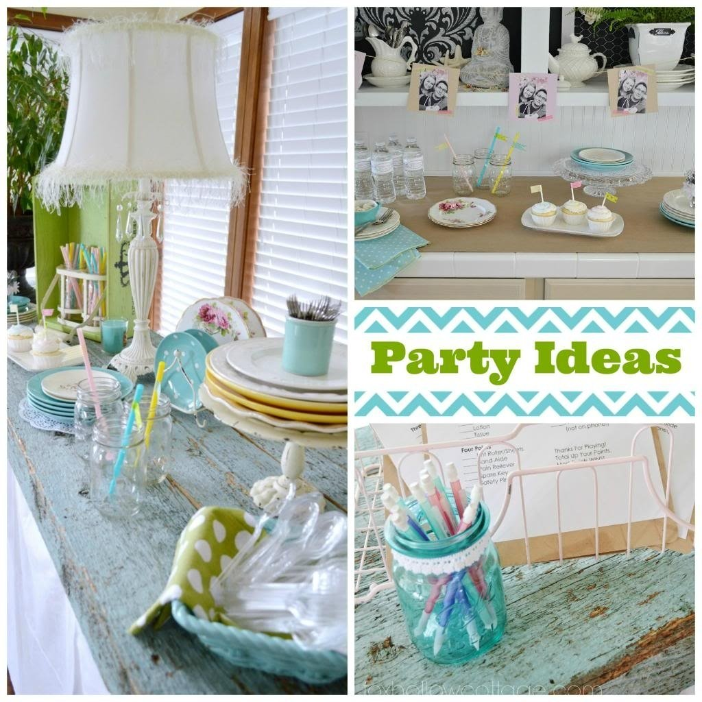 10 Stunning Decorating Ideas For Bridal Shower budget bridal shower decor and ideas fox hollow cottage 1