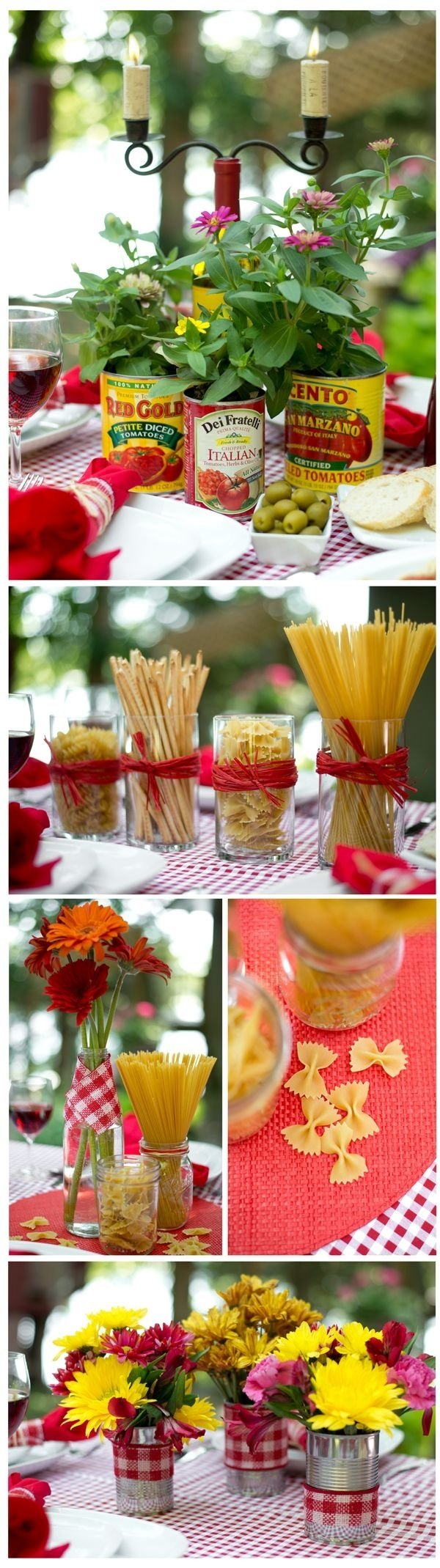 10 Lovely Wedding Rehearsal Dinner Ideas On A Budget budget centerpiece ideas for an italian dinner theme dinner themes 2020