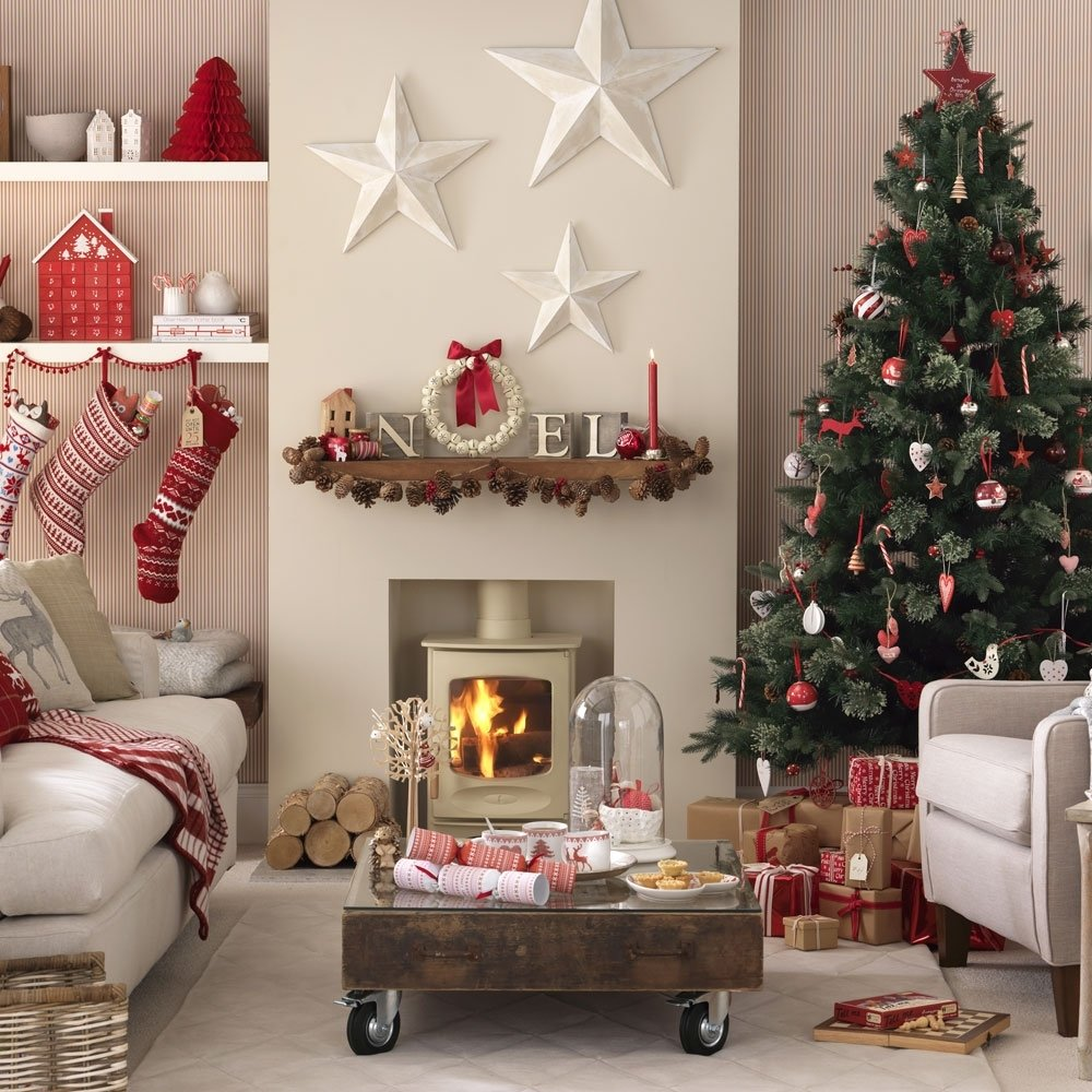 budget christmas decorating ideas | ideal home