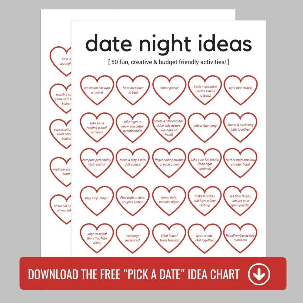10 unique fun stay at home date ideas