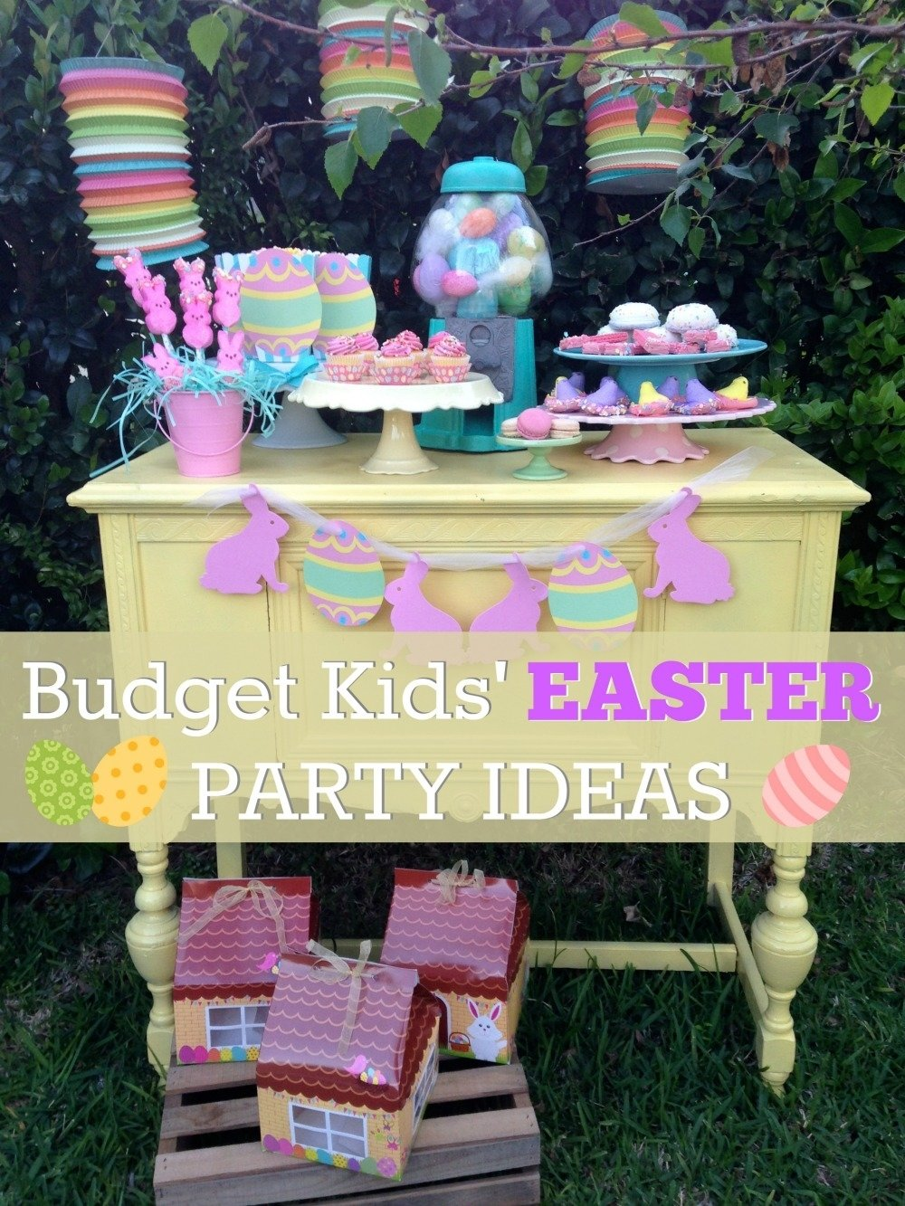 10 Spectacular Easter Party Ideas For Kids budget friendly kids easter dessert table ideas catch my party 2020