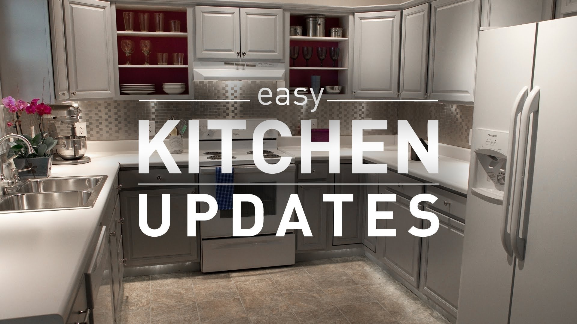 10 Fantastic Kitchen Makeover Ideas On A Budget budget friendly kitchen makeover from lowes youtube 2020