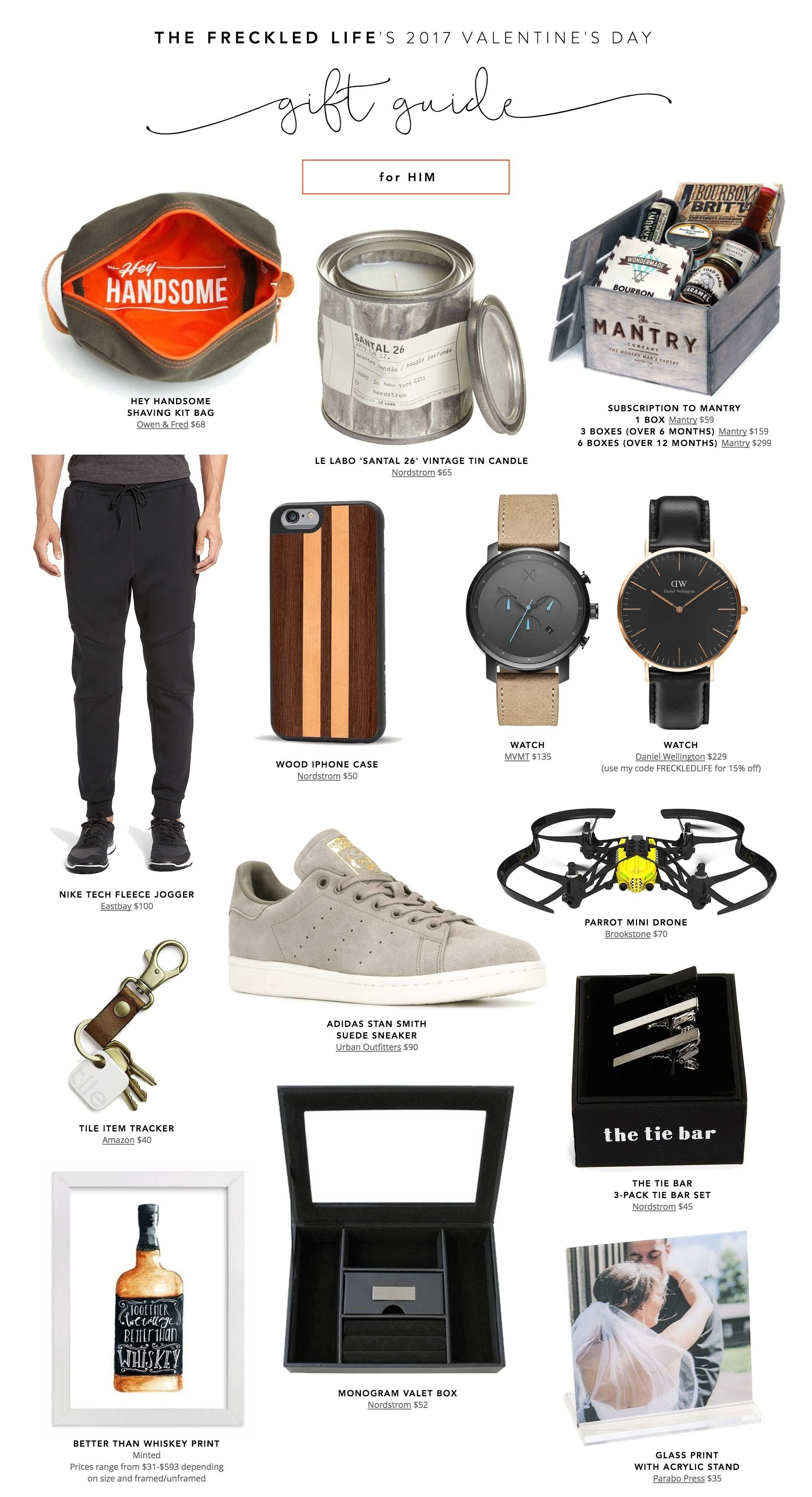 10 Amazing Gift Ideas For A Guy Friend budget friendly valentines gifts for the boys holiday gift guide
