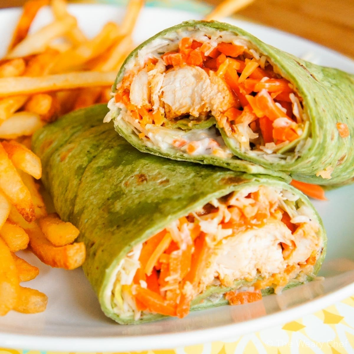 10 Attractive Easy Dinner Ideas With Chicken buffalo chicken wraps a fun and tasty dinner idea the weary chef 11 2020