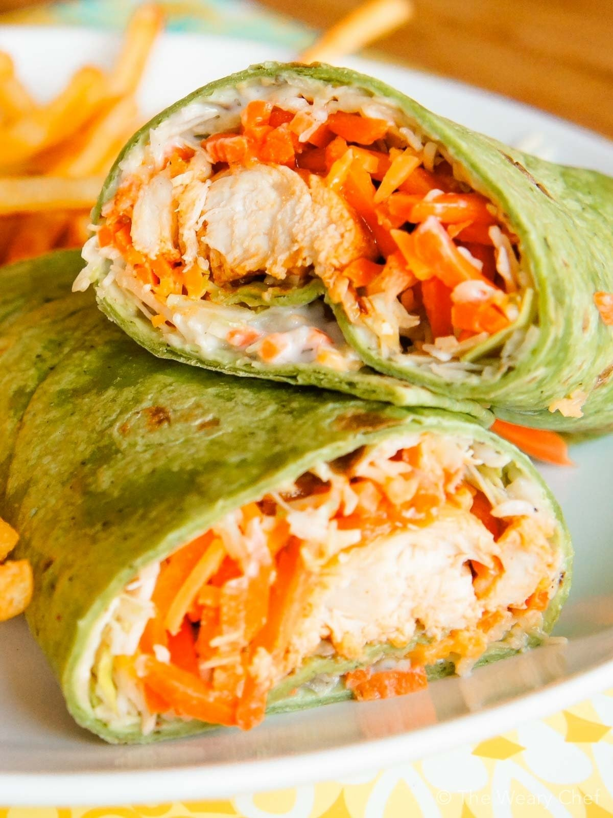10 Gorgeous Easy Supper Ideas For Two buffalo chicken wraps a fun and tasty dinner idea the weary chef 14 2020