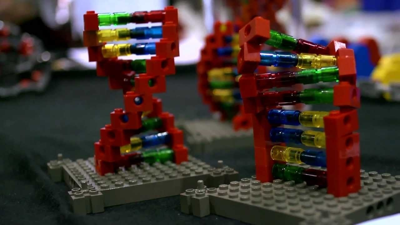 10 Attractive 3D Dna Model Project Ideas building molecular models from lego dna makers science stuff