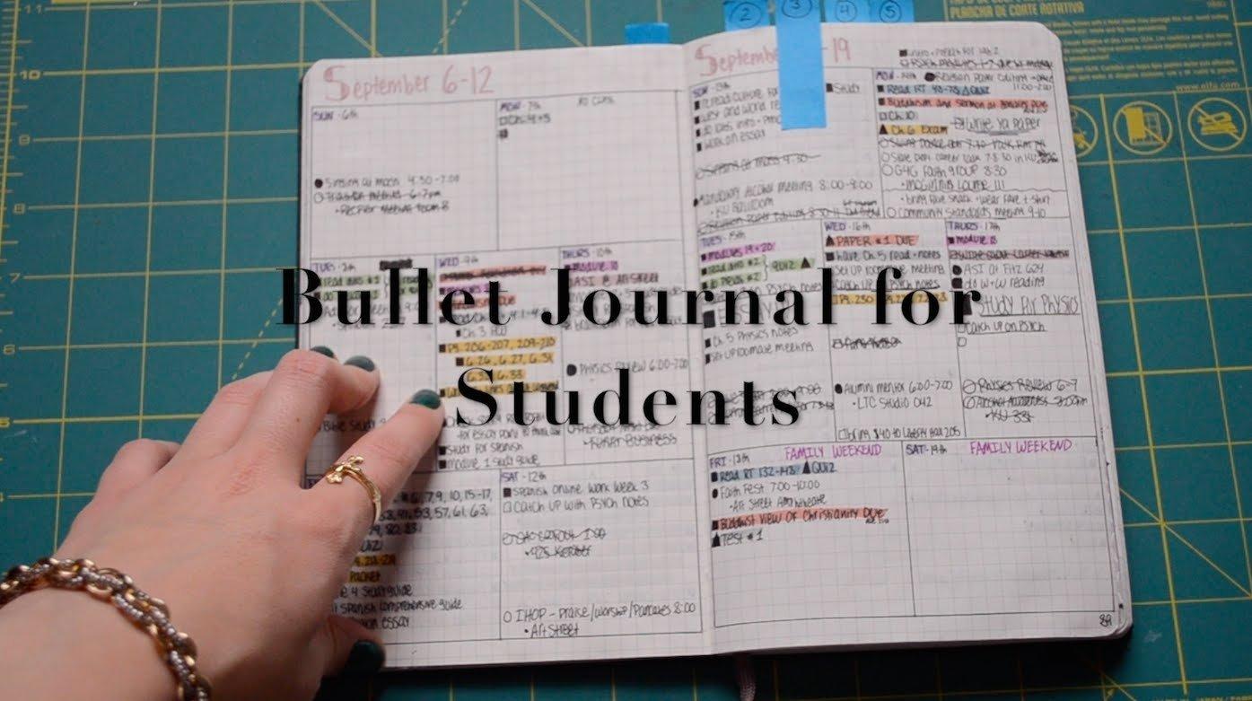 10 Stylish Journal Ideas For Middle School bullet journal for students krutsicklass youtube 2020