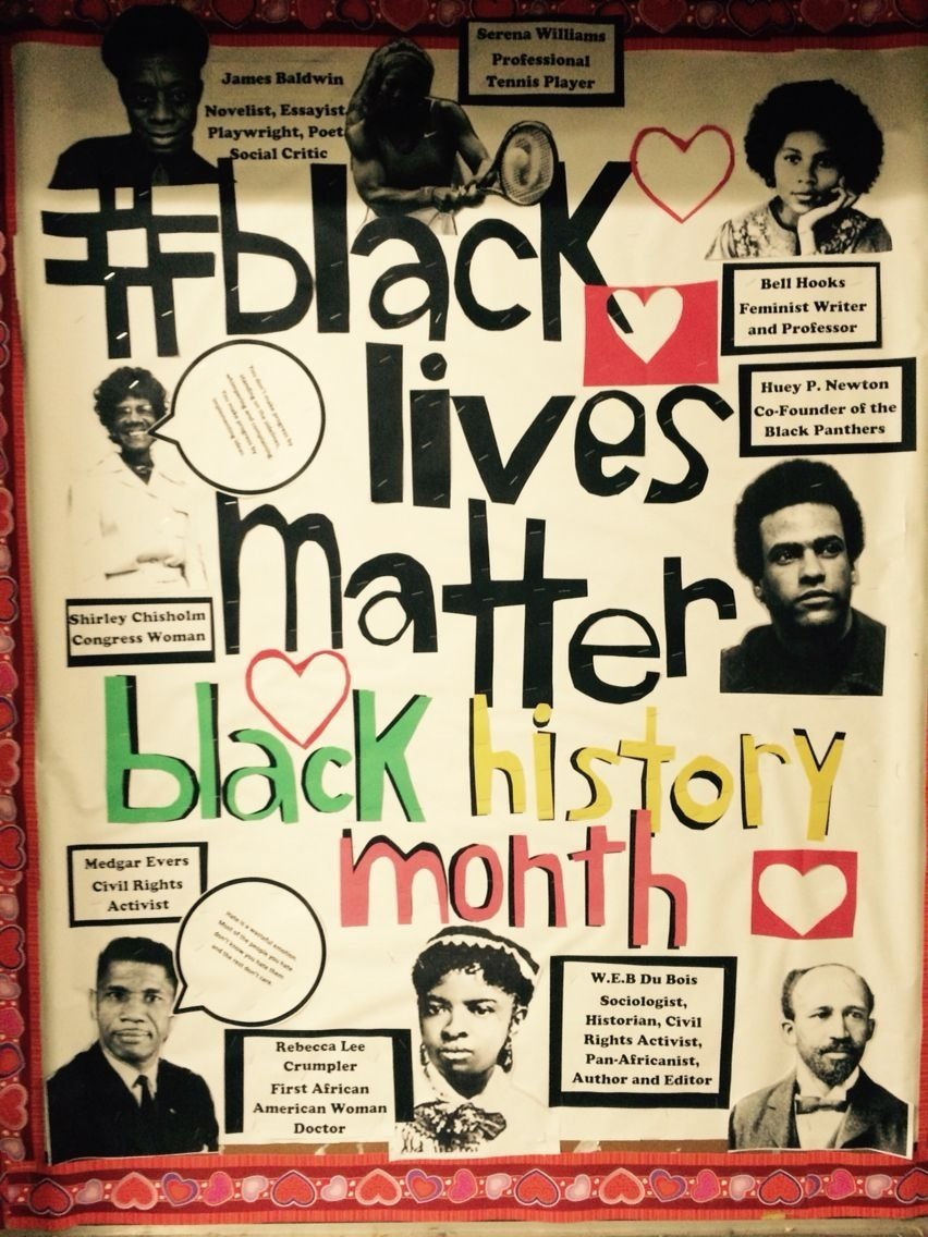 10 Fantastic Ideas For Black History Month bulletin board for black history month bulletin board ideas 1 2021