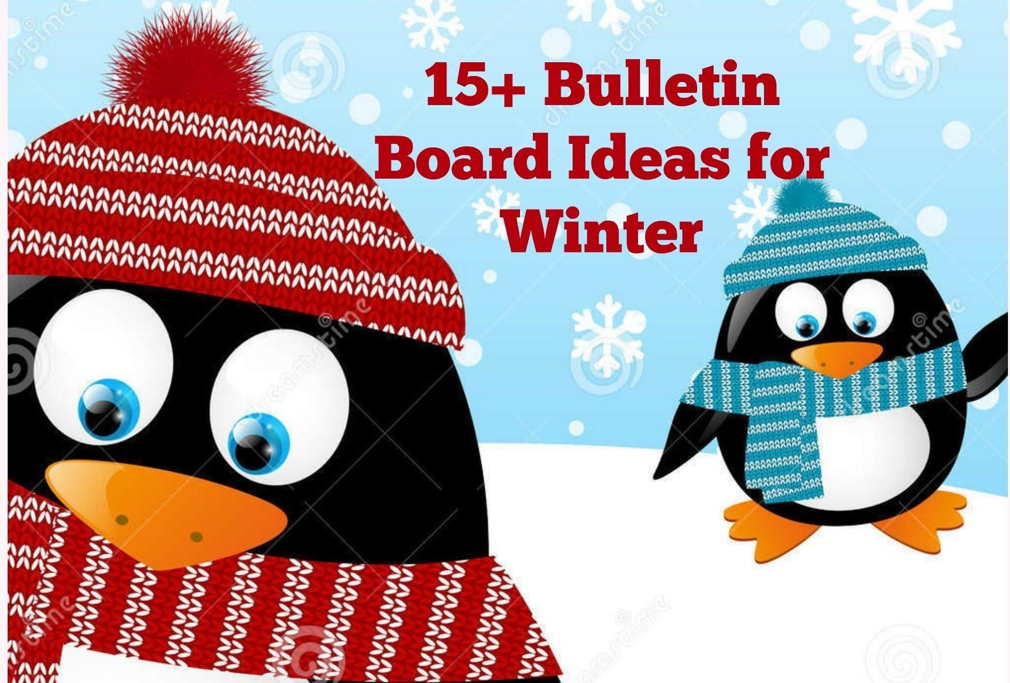 10 Ideal Bulletin Board Ideas For January bulletin board ideas for winter youtube 3
