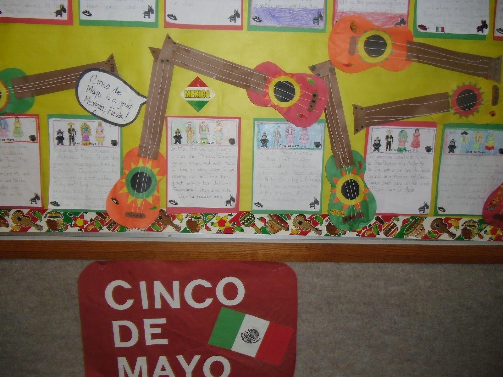 10 Fabulous Cinco De Mayo Bulletin Board Ideas bulletin board ideas spanish classroom here is our cinco de mayo 2020