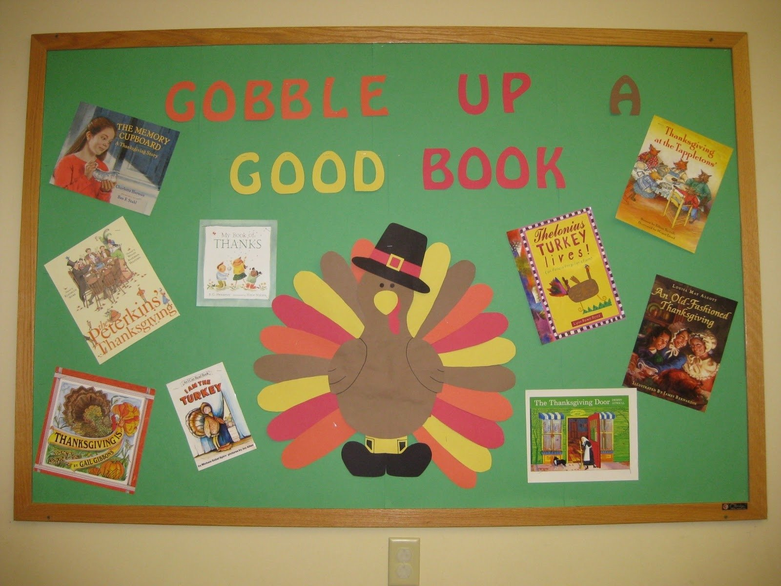 bulletin board ideas: thanksgiving story time | deb's design